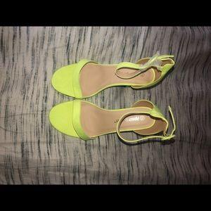 Ashely Stewart Three Inch Sandals